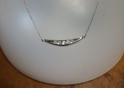 Collier diamants