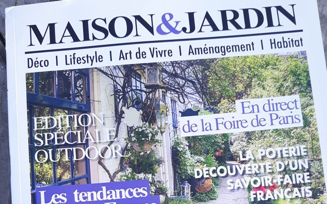 Article dans Maison & Jardin